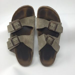 Birkenstock Soft Bed Sand Color Sandals